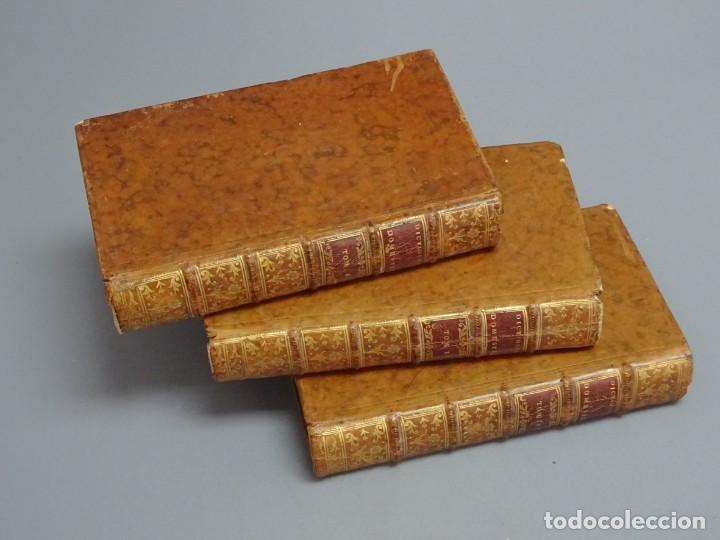 Libros antiguos: DICTIONNAIRE DOMESTIQUE PORTATIF - 3 VOLÚMENES - OBRA COMPLETA - PARIS 1765 - Foto 8 - 195312140