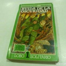 Libros antiguos: LIBRO JUEGO DE LOBO SOLITARIO Nº 1. Lote 195318376