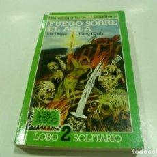 Libros antiguos: LIBRO JUEGO DE LOBO SOLITARIO Nº 2. Lote 195318470