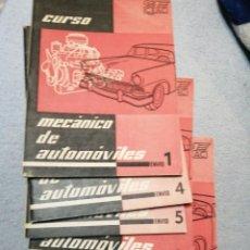 Libros antiguos: CURSO CEAC MECÁNICO DE AUTOMÓVILES1958. Lote 195325250
