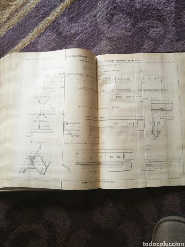 Libros antiguos: Libro de mecanica de tren - Foto 2 - 195328376