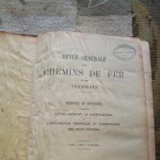 Libros antiguos: LIBRO DE TRENES. Lote 195329032