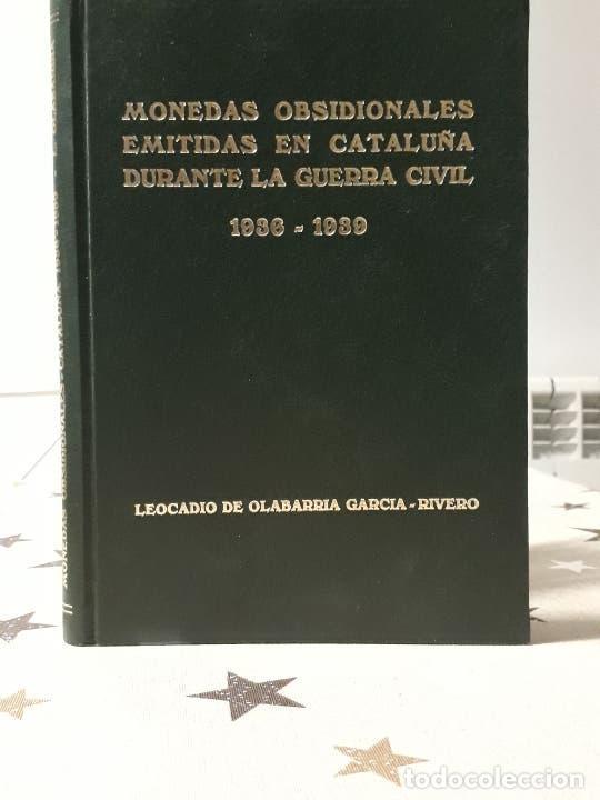 LIBRO MONEDAS OBSIDIONALES EMITIDAS EN CATALUÑA EDICIÓN LIMITADA DE 29 EJEMPLARES (Libros Antiguos, Raros y Curiosos - Bellas artes, ocio y coleccionismo - Otros)