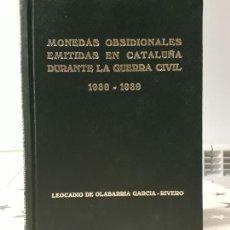 Libros antiguos: LIBRO MONEDAS OBSIDIONALES EMITIDAS EN CATALUÑA. Lote 195336437