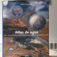 Libros antiguos: PIETRO LAUREANO ATLAS DE AGUA. Lote 195336767