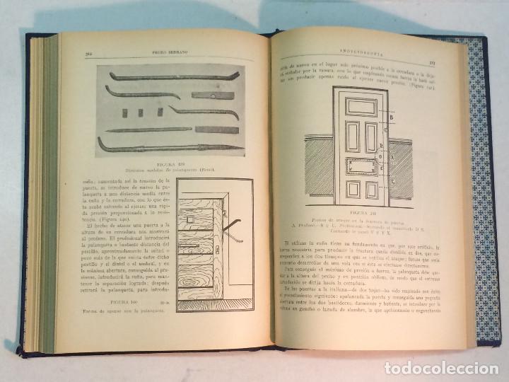 Libros antiguos: Pedro Serrano García: Indicioscopia. Impresiones - huellas - manchas pelos y fibras... - Foto 7 - 195343692
