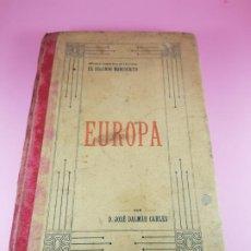 Libros antiguos: LIBRO-MÉTODO COMPLETO DE LECTURA-EL SEGUNDO MANUSCRITO-EUROPA-1911-JOSÉ DALMAU CARLES-COLECCIONISTAS. Lote 195344306