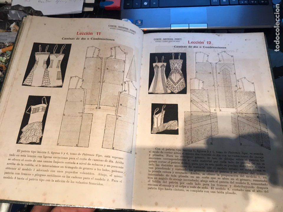 Libros antiguos: Corte sistema Marti - Foto 4 - 195362191