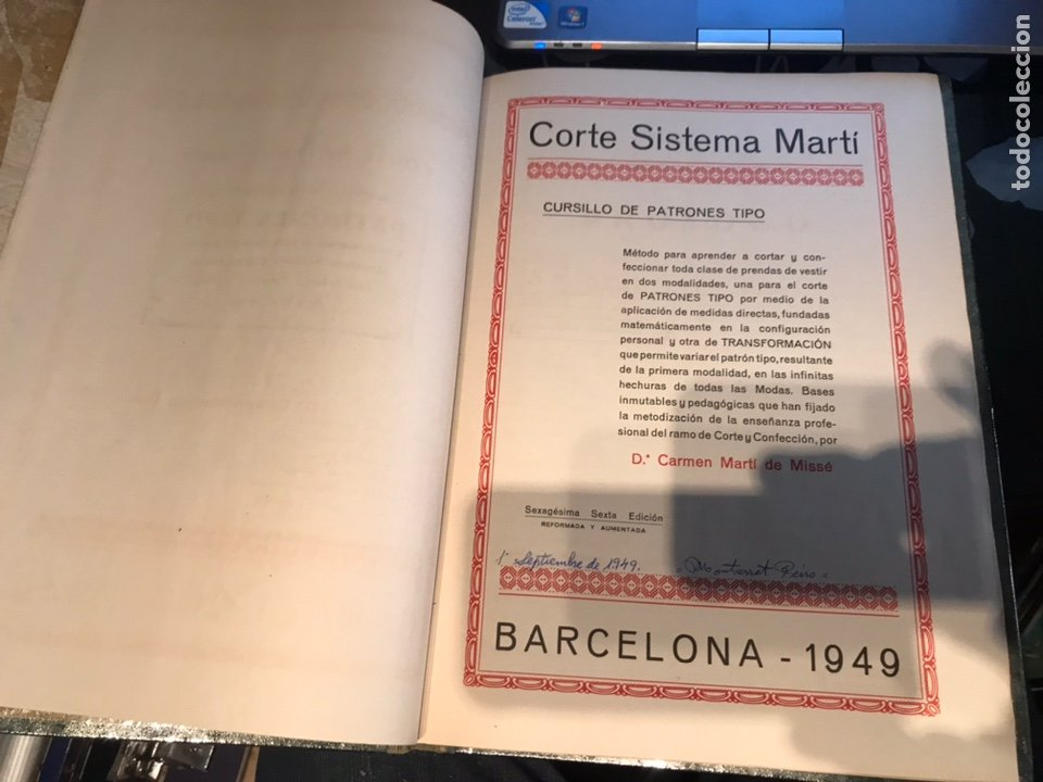 Libros antiguos: Corte sistema Marti - Foto 6 - 195362191