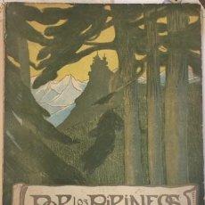 Libros antiguos: POR LOS PIRINEOS, IMPRESIONES DE VIAJE. PUIGDOLLERS Y MACIA 1903 MERCURIO. Lote 195372690