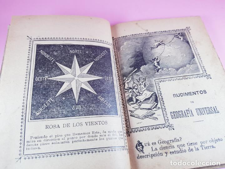 Libros antiguos: libro-geografía para niños-saturnino calleja-obra de texto-edición ilustrada-sobre 1900-ver fotos - Foto 3 - 195392758