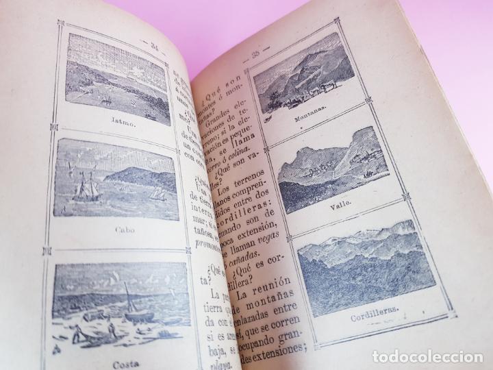 Libros antiguos: libro-geografía para niños-saturnino calleja-obra de texto-edición ilustrada-sobre 1900-ver fotos - Foto 5 - 195392758