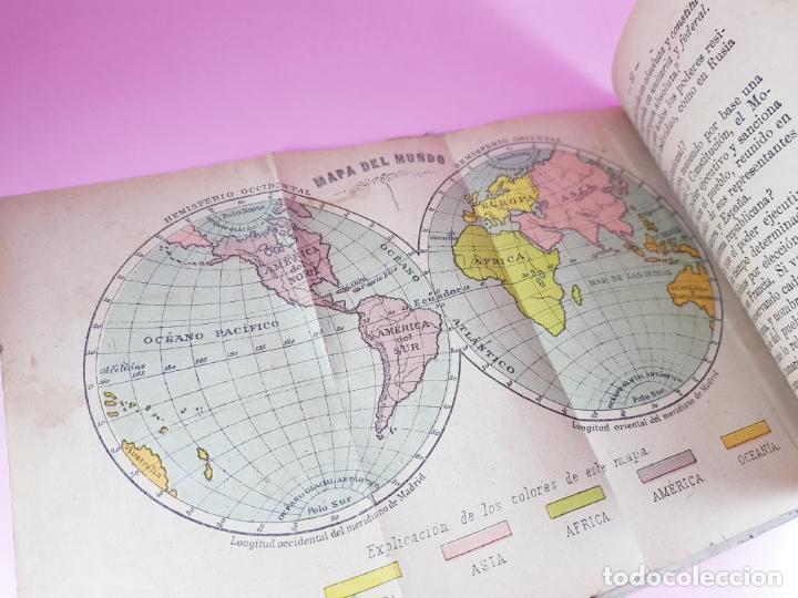 Libros antiguos: libro-geografía para niños-saturnino calleja-obra de texto-edición ilustrada-sobre 1900-ver fotos - Foto 6 - 195392758