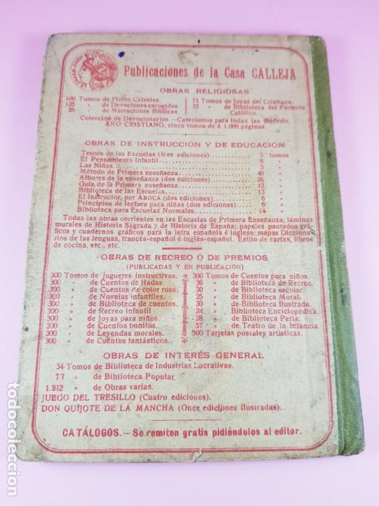 Libros antiguos: libro-geografía para niños-saturnino calleja-obra de texto-edición ilustrada-sobre 1900-ver fotos - Foto 9 - 195392758