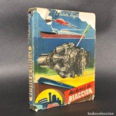 Libros antiguos: 1948 MOTORES DE REACCIÓN - AVIACIÓN - AVION - COHETE 0,01 J. CATALÁ VIRGILI MOTORES DE REACCIÓN. . Lote 195393427