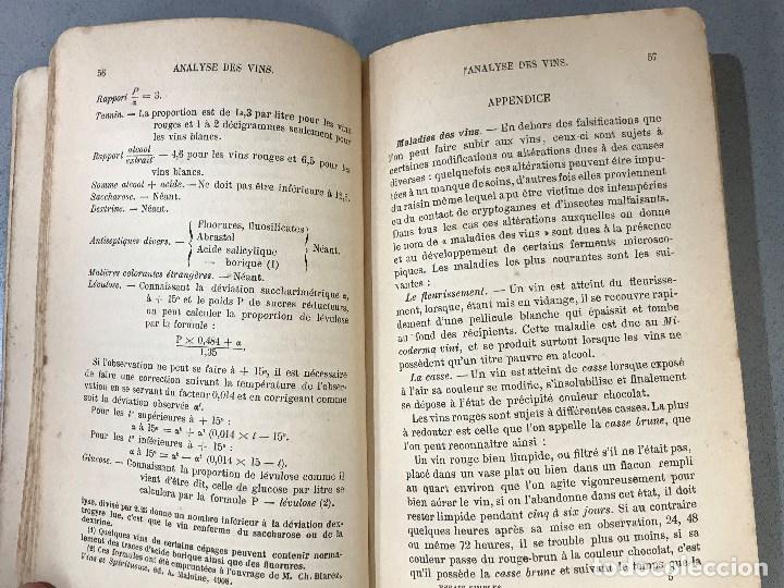Libros antiguos: Essais simples et pratiques des principales Substances alimentaires. París, 1910. - Foto 3 - 195394386