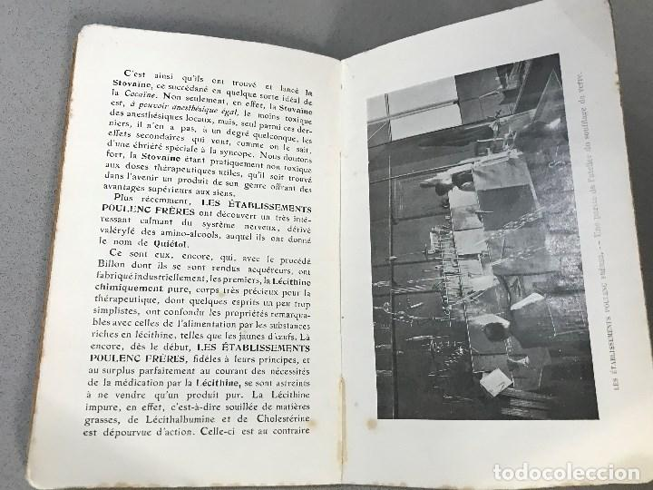 Libros antiguos: Essais simples et pratiques des principales Substances alimentaires. París, 1910. - Foto 8 - 195394386