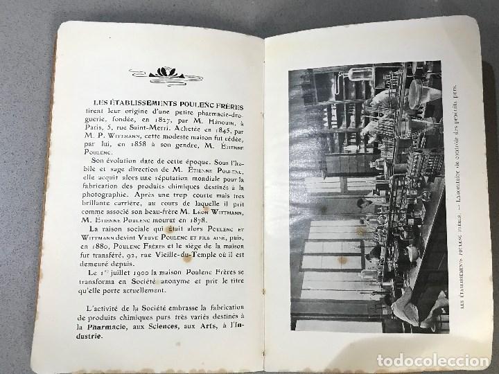 Libros antiguos: Essais simples et pratiques des principales Substances alimentaires. París, 1910. - Foto 9 - 195394386