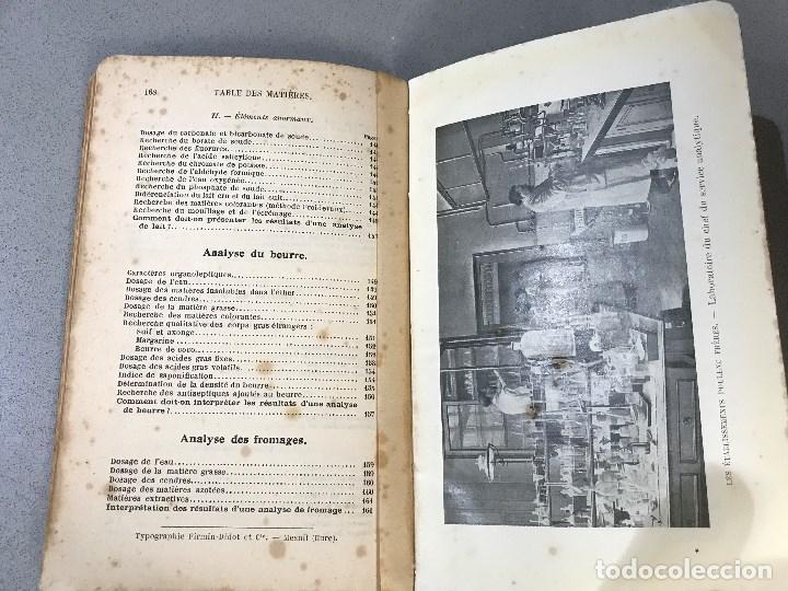 Libros antiguos: Essais simples et pratiques des principales Substances alimentaires. París, 1910. - Foto 10 - 195394386