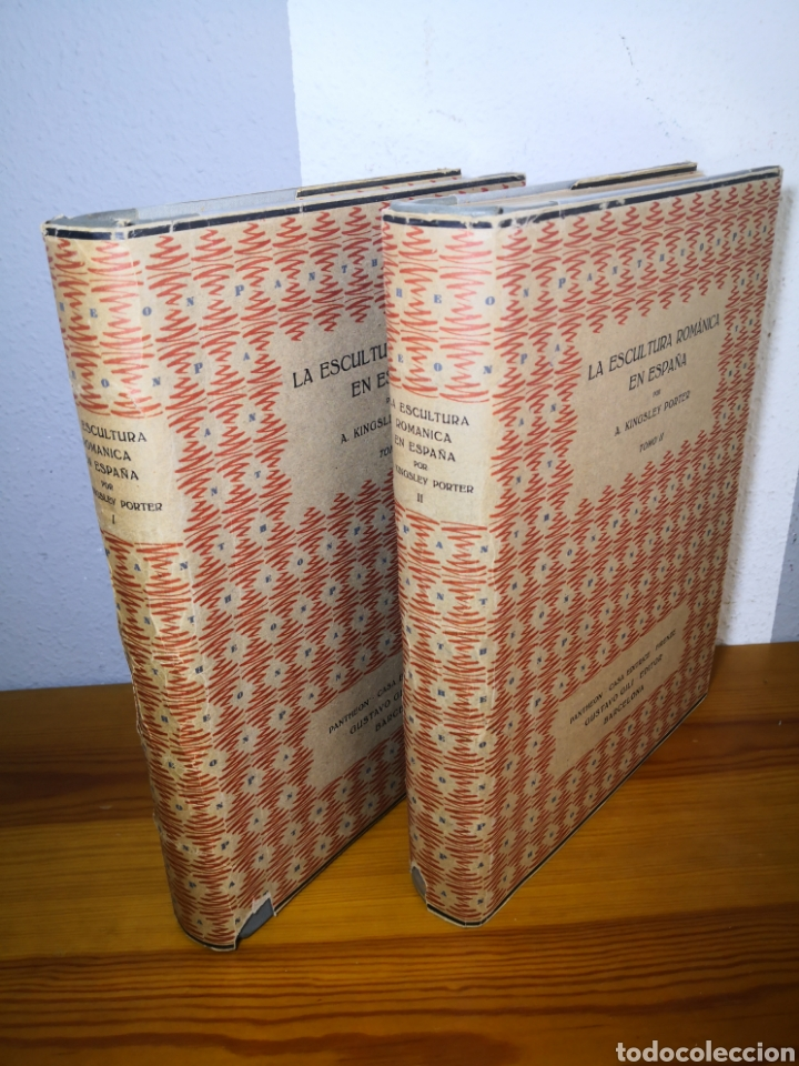 Libros antiguos: 1928 - La Escultura Románica, Obra Completa en 2 Tomos, A. Kingsley Porter - Foto 5 - 195405393
