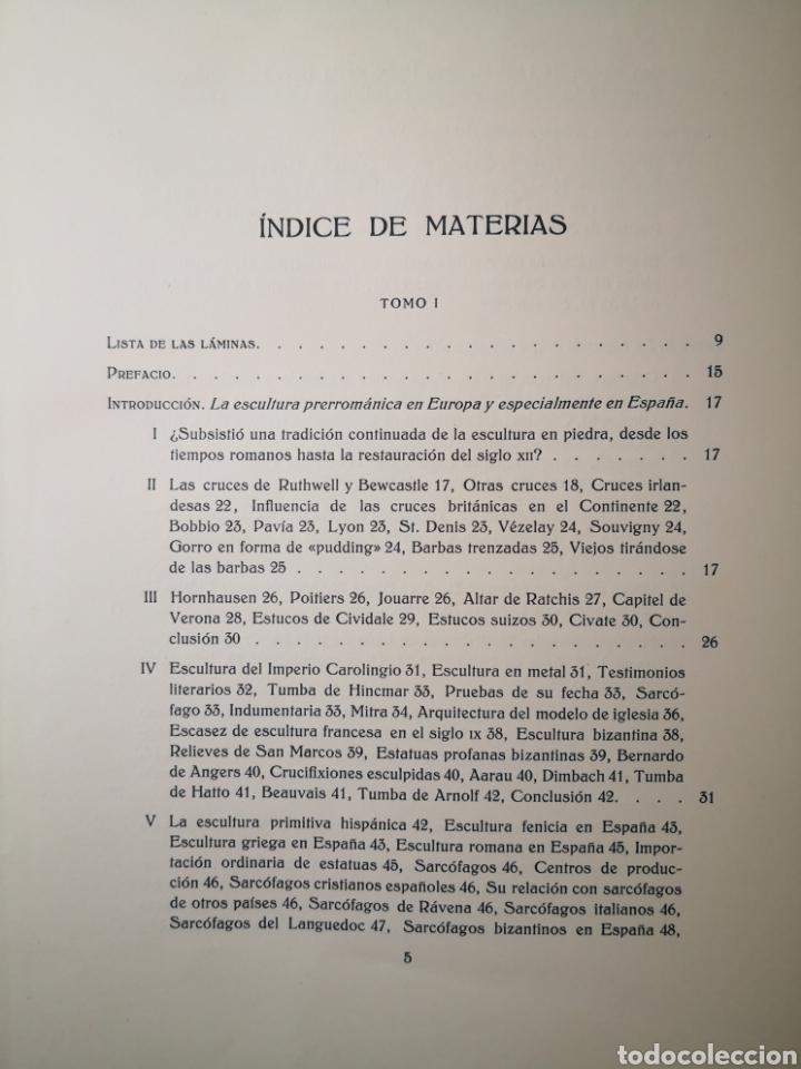 Libros antiguos: 1928 - La Escultura Románica, Obra Completa en 2 Tomos, A. Kingsley Porter - Foto 7 - 195405393