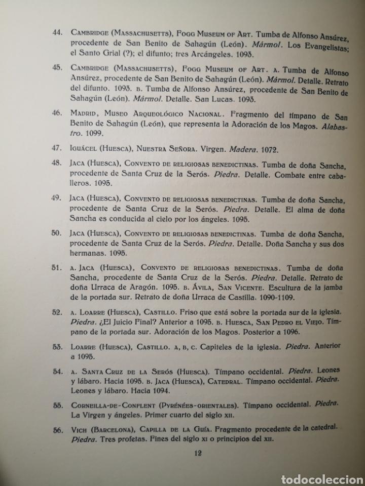 Libros antiguos: 1928 - La Escultura Románica, Obra Completa en 2 Tomos, A. Kingsley Porter - Foto 14 - 195405393