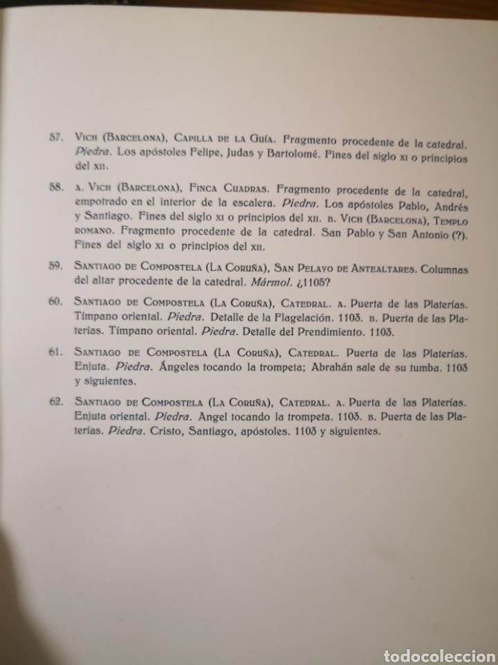 Libros antiguos: 1928 - La Escultura Románica, Obra Completa en 2 Tomos, A. Kingsley Porter - Foto 15 - 195405393
