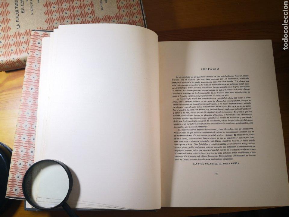 Libros antiguos: 1928 - La Escultura Románica, Obra Completa en 2 Tomos, A. Kingsley Porter - Foto 16 - 195405393