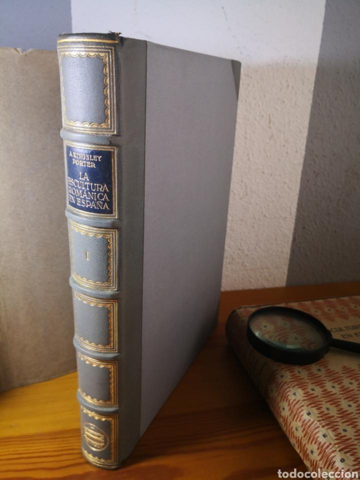 Libros antiguos: 1928 - La Escultura Románica, Obra Completa en 2 Tomos, A. Kingsley Porter - Foto 22 - 195405393