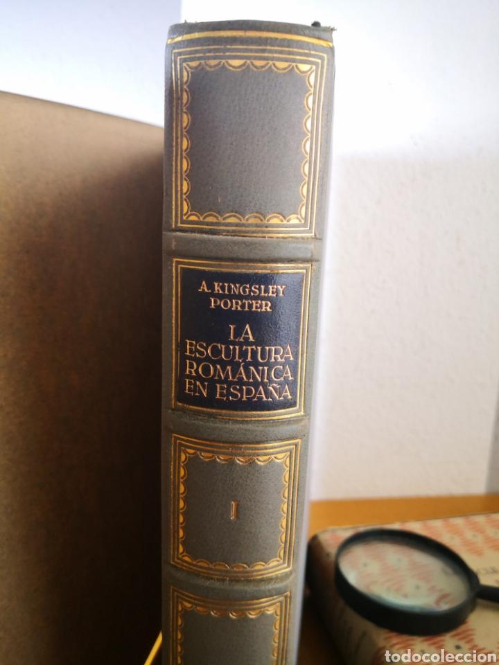 Libros antiguos: 1928 - La Escultura Románica, Obra Completa en 2 Tomos, A. Kingsley Porter - Foto 23 - 195405393