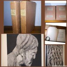 Libros antiguos: 1928 - LA ESCULTURA ROMÁNICA, OBRA COMPLETA EN 2 TOMOS, A. KINGSLEY PORTER. Lote 195405393