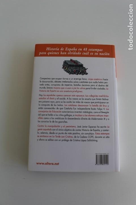 Libros antiguos: LA GESTA ESPAÑOLA - Foto 2 - 195406635
