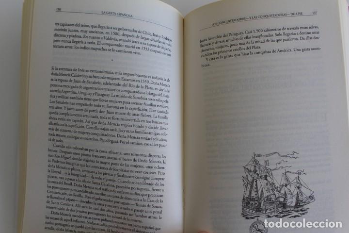 Libros antiguos: LA GESTA ESPAÑOLA - Foto 3 - 195406635