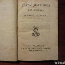 Libros antiguos: CADALSO. CARTAS MARRUECAS. 1793. 1ª EDICIÓN. Lote 195416702