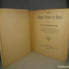 Libros antiguos: LAS TARJETAS POSTALES EN ESPAÑA - AÑO 1903 - F.CARRERAS CANDI - ILUSTRADO.. Lote 195449982