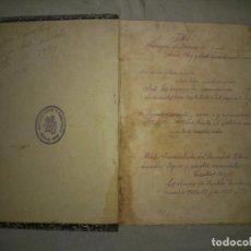 Libros antiguos: LIBRO MANUSCRITO CIENCIA DEL SACERDOTE - OLOT AÑO 1921 - MUY RARO.. Lote 195450335
