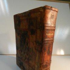 Libros antiguos: GARGANTUA Y PANTAGRUEL. FRANÇOIS RABELAIS PUB CRÈS ET CIE, PARÍS, 1922 HENRI CLOUZOT JOESPH HÉMARD. Lote 195456046