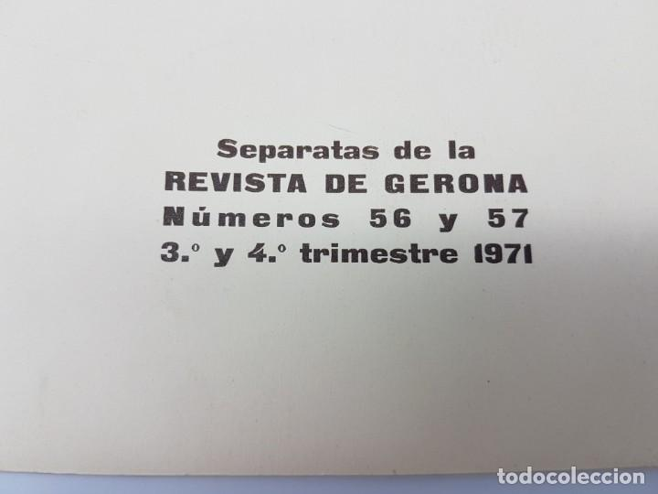 Libros antiguos: LA FARMACIA HOSPITAL PROVINCIAL DE GERONA, SEGLE XVIII ( SEPARADA 1971 ) ILUSTRADA - Foto 2 - 195456585