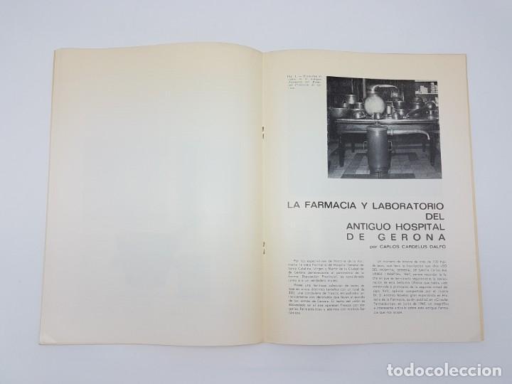 Libros antiguos: LA FARMACIA HOSPITAL PROVINCIAL DE GERONA, SEGLE XVIII ( SEPARADA 1971 ) ILUSTRADA - Foto 7 - 195456585