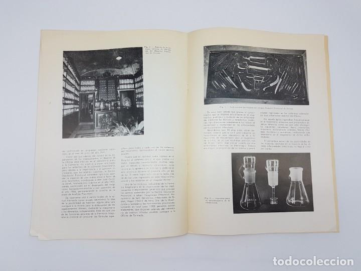 Libros antiguos: LA FARMACIA HOSPITAL PROVINCIAL DE GERONA, SEGLE XVIII ( SEPARADA 1971 ) ILUSTRADA - Foto 9 - 195456585