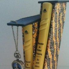 Libros antiguos: EL PRINCIPITO Y LE PETIT PRINCE / ANTOINE DE SAINT-EXUPÉRY ¡¡ÚNICO POR SU ENCUADERNACIÓN ARTESANAL! . Lote 195458177