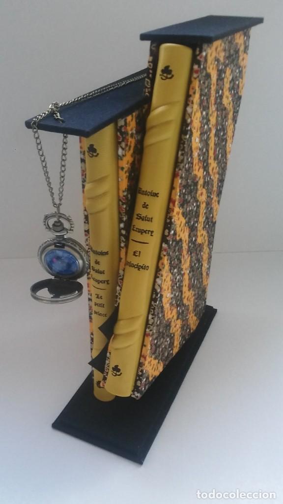Libros antiguos: El principito y Le petit prince / Antoine de Saint-Exupéry ¡¡Único por su encuadernación artesanal! - Foto 3 - 195458177