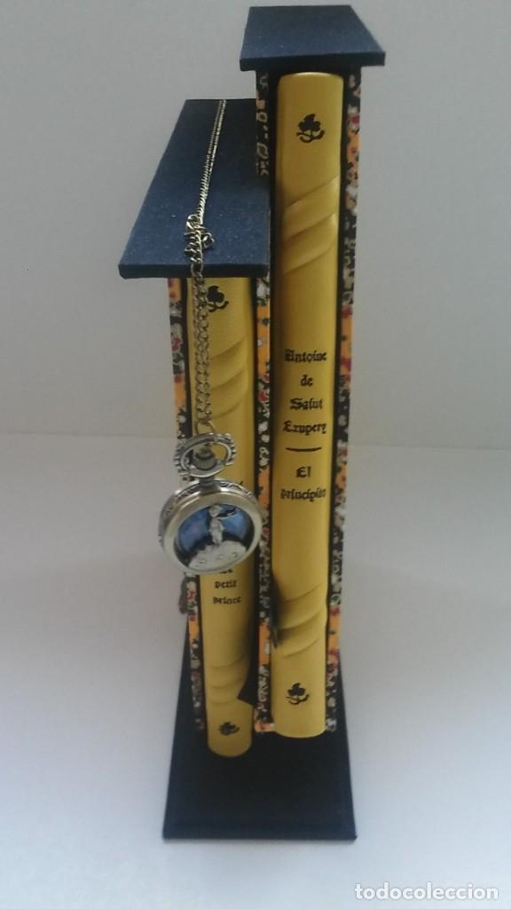 Libros antiguos: El principito y Le petit prince / Antoine de Saint-Exupéry ¡¡Único por su encuadernación artesanal! - Foto 6 - 195458177