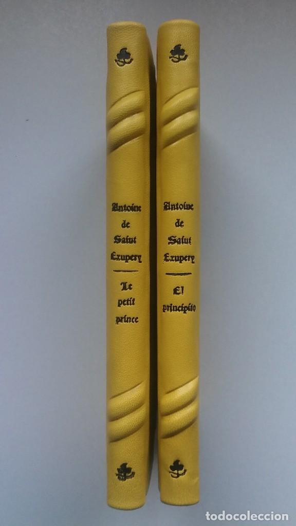 Libros antiguos: El principito y Le petit prince / Antoine de Saint-Exupéry ¡¡Único por su encuadernación artesanal! - Foto 12 - 195458177