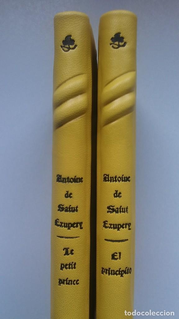 Libros antiguos: El principito y Le petit prince / Antoine de Saint-Exupéry ¡¡Único por su encuadernación artesanal! - Foto 13 - 195458177