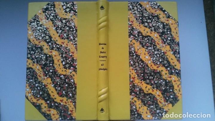Libros antiguos: El principito y Le petit prince / Antoine de Saint-Exupéry ¡¡Único por su encuadernación artesanal! - Foto 18 - 195458177