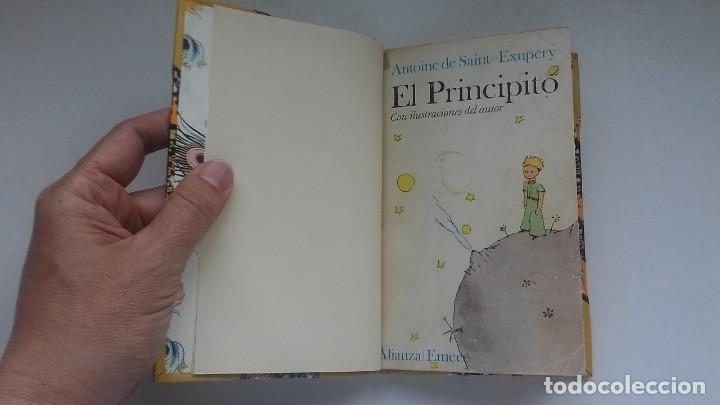 Libros antiguos: El principito y Le petit prince / Antoine de Saint-Exupéry ¡¡Único por su encuadernación artesanal! - Foto 20 - 195458177