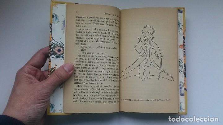 Libros antiguos: El principito y Le petit prince / Antoine de Saint-Exupéry ¡¡Único por su encuadernación artesanal! - Foto 23 - 195458177