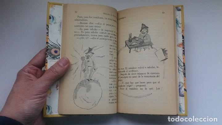 Libros antiguos: El principito y Le petit prince / Antoine de Saint-Exupéry ¡¡Único por su encuadernación artesanal! - Foto 24 - 195458177
