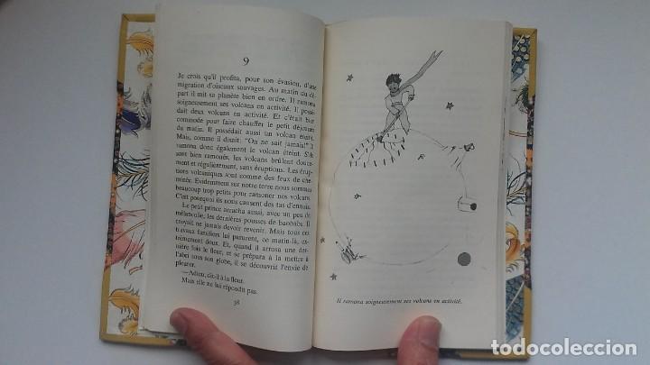 Libros antiguos: El principito y Le petit prince / Antoine de Saint-Exupéry ¡¡Único por su encuadernación artesanal! - Foto 28 - 195458177